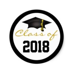 2018 Graduation Ribbon
